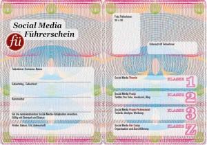 Social Media Führerschein für Unternehmen