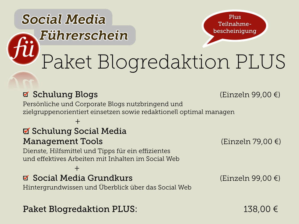 Blogredaktion-Plus-Paket